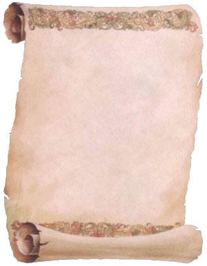 pergamene vuote da